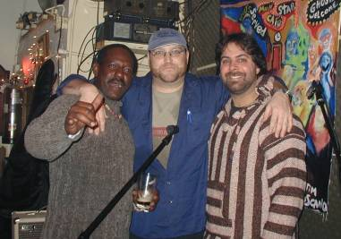 Phoopa, Ray Pasnen, Mike Plotino at The Back Fence in NYC