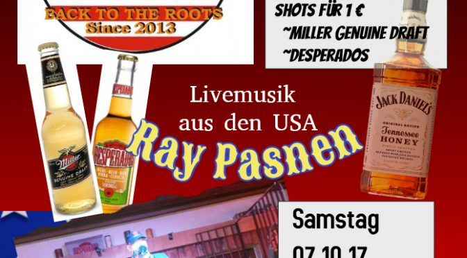 Livemusik im The Real Hanky – 07.10.2017