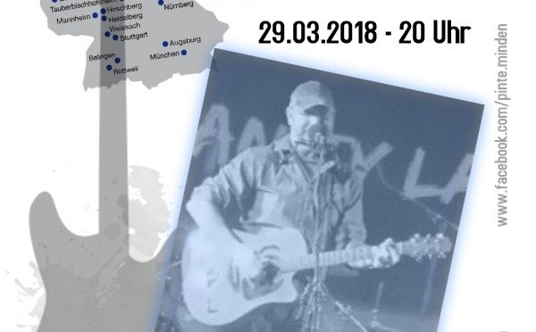 Ray Pasnen - Live-Musik in der Pinte 29.03.2018
