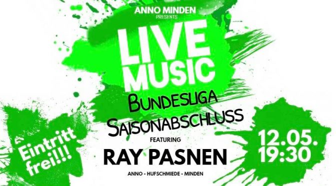 *SEASON END* Party @ ANNO Minden – 12.05.2018