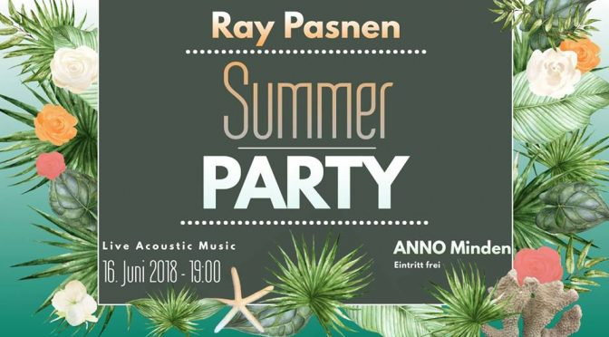 Summer Party im ANNO 16.06. – 19 Uhr